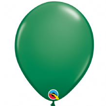 "Qualatex 11 inch Balloons - Green 11"" Balloons (6pcs)"